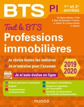 Tout le BTS Professions immobilières - 2019-2020