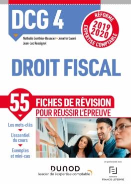 DCG 4 Droit fiscal - Fiches de révision