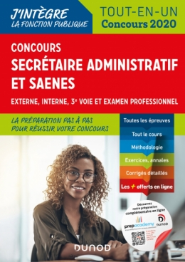 Concours Secrétaire administratif et SAENES