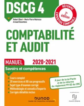 DSCG 4 Comptabilité et audit - Manuel 2020-2021