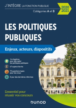 Les politiques publiques 2020-2021 - Enjeux, acteurs et dispositifs
