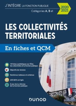 Les collectivités territoriales en fiches et QCM - 2020 2021