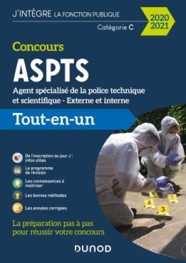 Concours agent spécialisé de la police technique et scientifique ASPTS - 2020-2021