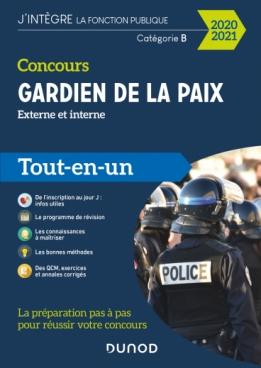 Concours Gardien de la paix - 2020-2021