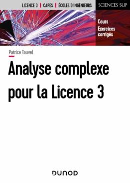 Analyse complexe pour la Licence 3