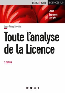 Toute l'Analyse de la Licence