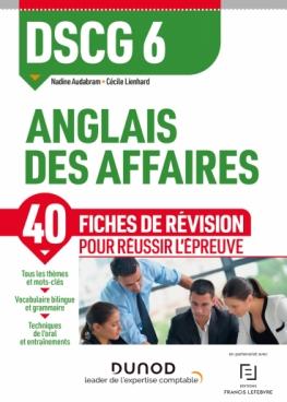 DSCG 6 - Anglais des affaires - Fiches de révision