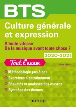 BTS Culture générale et Expression 2020/2021