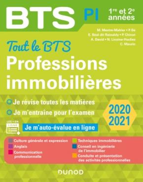 Tout le BTS Professions immobilières - 2020-2021