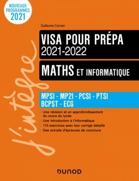 Maths et informatique - Visa pour la prépa 2021-2022