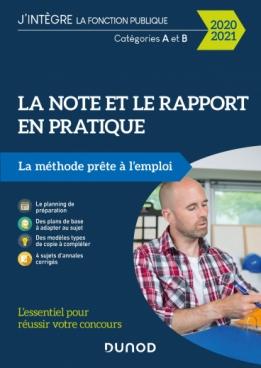 La note et le rapport en pratique