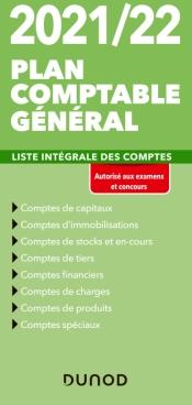 Plan comptable général 2021/22