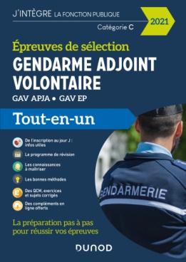 Epreuves de sélection Gendarme adjoint volontaire - 2021-2022