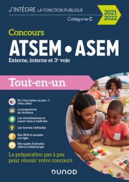 Concours ATSEM ASEM - 2021-2022