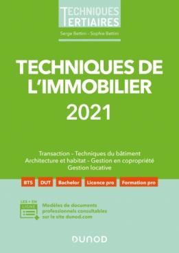 Techniques de l'immobilier 2021