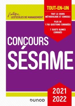 Concours Sésame 2021-2022
