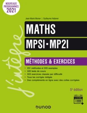 Maths MPSI-MP2I - Méthodes et Exercices