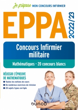 EPPA 2022/23 - Concours Infirmier militaire