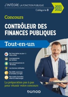 Concours Contrôleur des finances publiques - 2021-2022