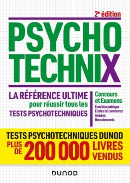 PsychotechniX - La référence ultime pour réussir tous les tests psychotechniques