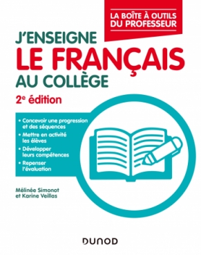 J'enseigne le français au collège