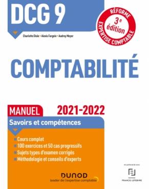 DCG 9 Comptabilité - Manuel - 2021/2022