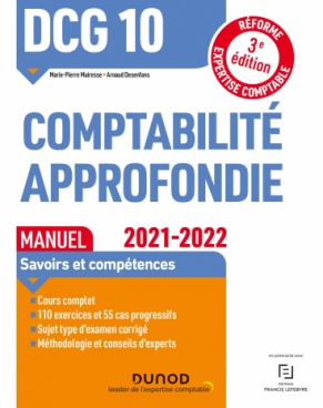 DCG 10 Comptabilité approfondie - Manuel - 2021/2022