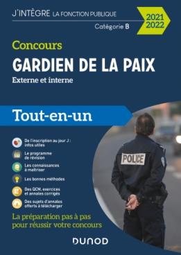 Concours Gardien de la paix - 2021-2022