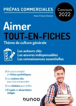 Aimer - Prépas commerciales Culture générale - Concours 2022