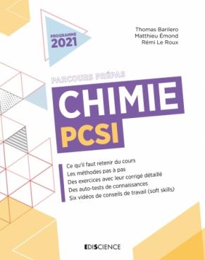 Chimie PCSI - 2021