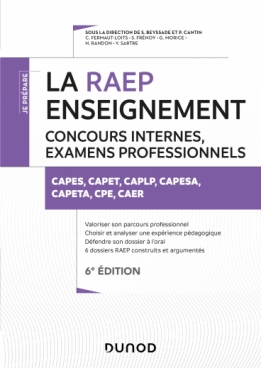 La Raep enseignement - Concours internes, examens professionnels