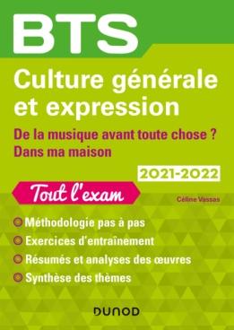 BTS Culture générale et Expression 2021-2022