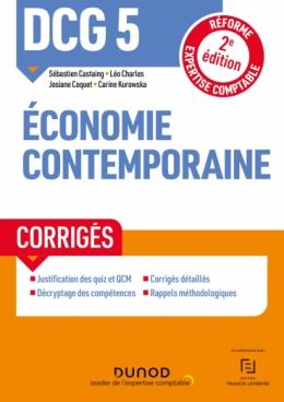 DCG 5 Economie contemporaine - Corrigés