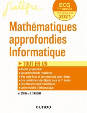 ECG 1 - Mathématiques approfondies, Informatique - Tout-en-un