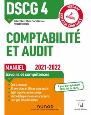 DSCG 4 Comptabilité et audit - Manuel 2021/2022