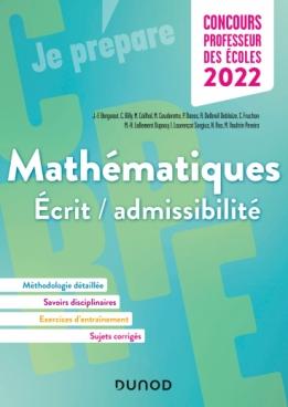 Concours Professeur des écoles - Mathématiques - 2022