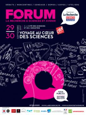 Affiche Forum La recherche