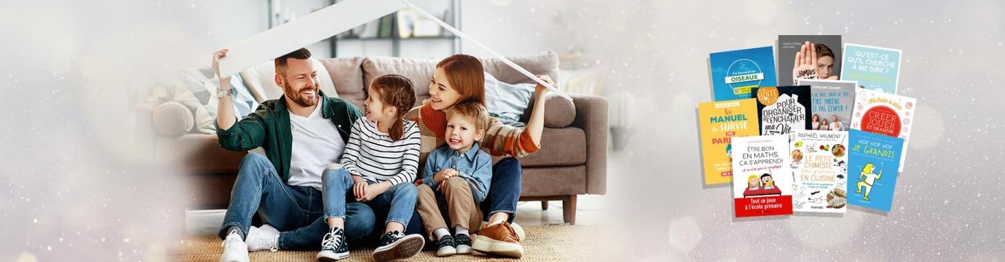 confinement : Parents et enfants : tout le monde à la maison !