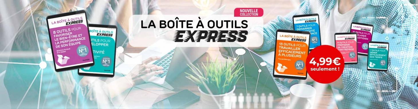"""Découvrez """"La Boîte à Outils Express"""" dunod"""