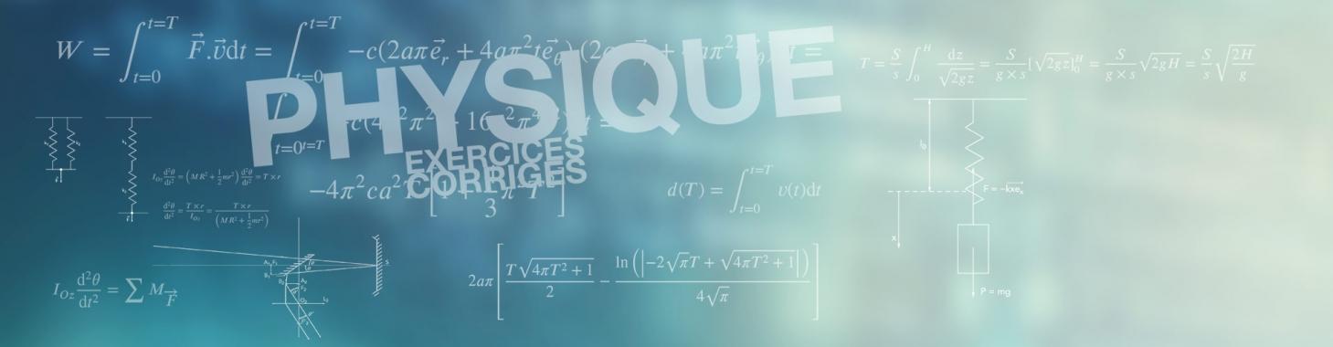 Entrainement intensif aux notions fondamentales de physique licence 1