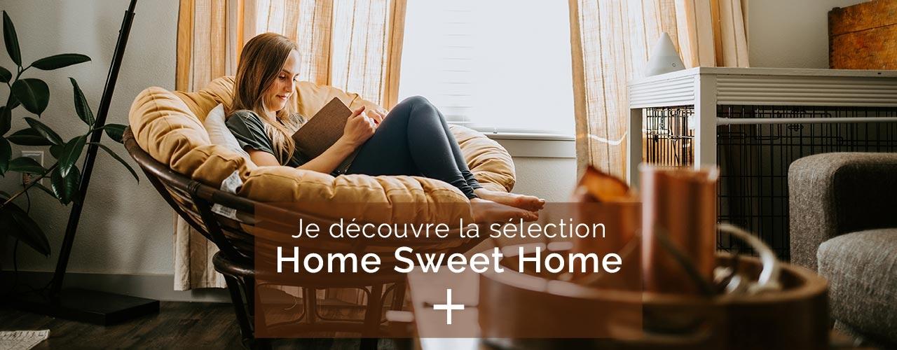 Home Sweet Home - Du temps pour soi ? 20 livres pour retrouver l'équilibre, créer, s'évader…