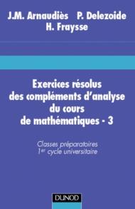 Exercices résolus du cours de mathématiques