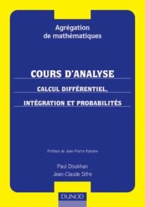 Calcul différentiel, intégration et probabilités