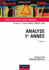 Analyse - Licence 1re année