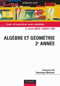 Algèbre et géométrie - Licence 2e année