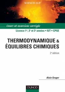 Thermodynamique et équilibres chimiques