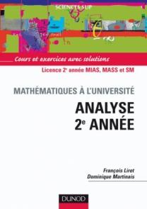 Analyse 2e année