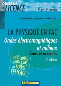 Ondes électromagnétiques et milieux