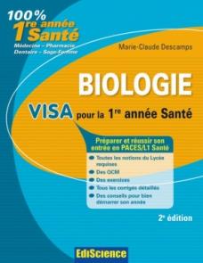 Biologie Visa pour 1re année Santé
