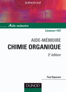 Aide-mémoire de chimie organique